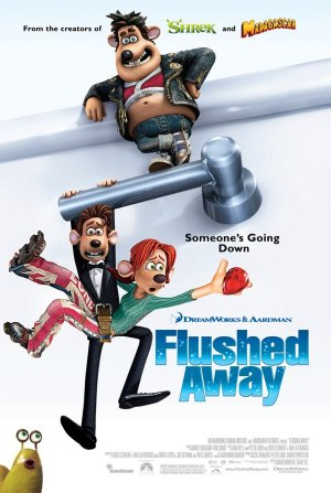 FlushedAway poster - Hugh Jackman Film Posterleri